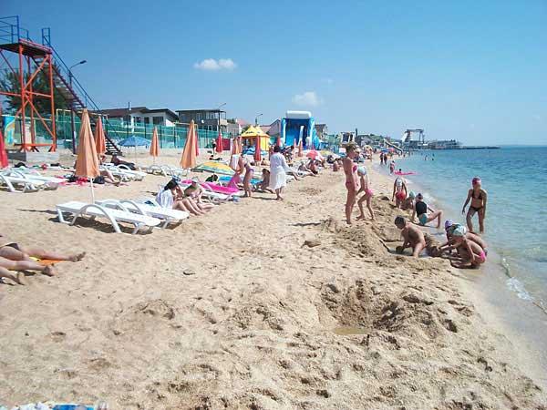 Песчаные пляжи Феодосии для детей и их родителей. Отдых в Крыму - Фото