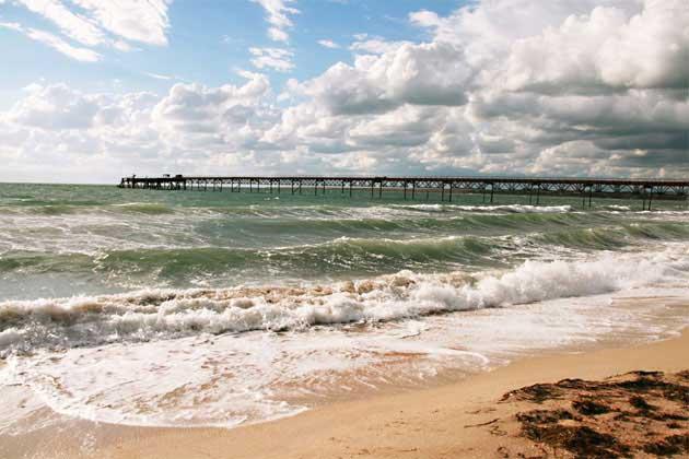 Межводное песчаные пляжи - Фото