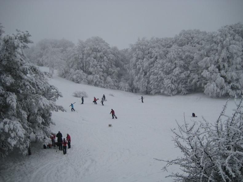 Ай-Петри, катания на лыжах - Фото 03