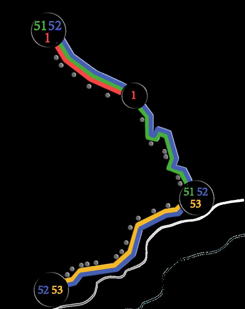 Схема движения троллейбусов на отрезке Симферополь-Алушта-Ялта - Фото 04