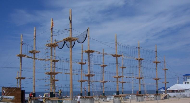 Веревочный парк 'Остров сокровищ' - Фото 10