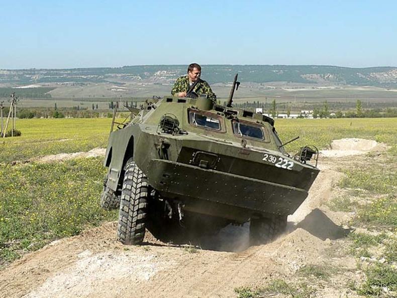 Поездка на бронированной военной машине - Фото 10