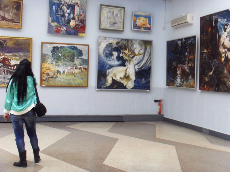 Выставка художников в Ялте - Фото 09