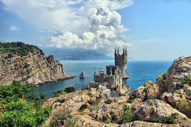 Замок Ласточкино гнездо - Фото 03