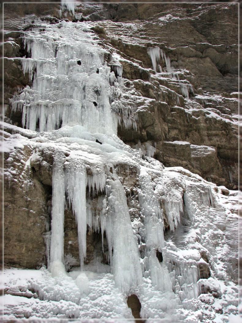 Водопад Учан-Су зимой - Фото 05