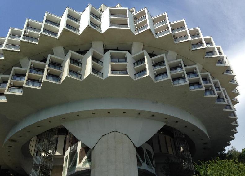 Архитектурная особенность корпуса Дружба - Фото 07