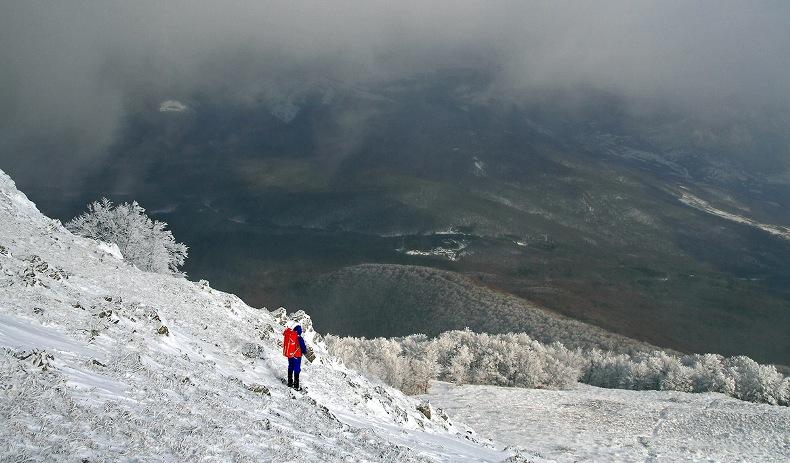 Красота зимы на перевале в Крыму - Фото 02