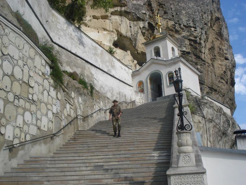 Свято-Успенский мужской монастырь, Бахчисарай - Фото 11