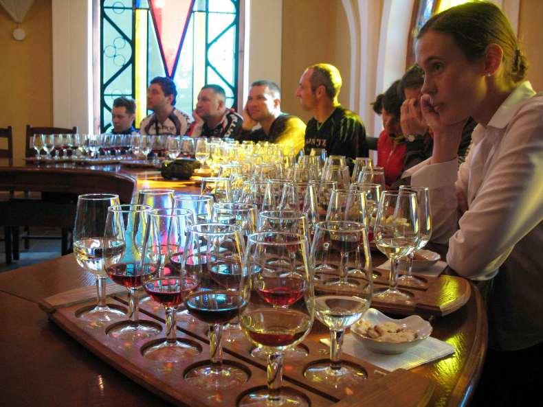Дегустация крымских вин - Фото 02