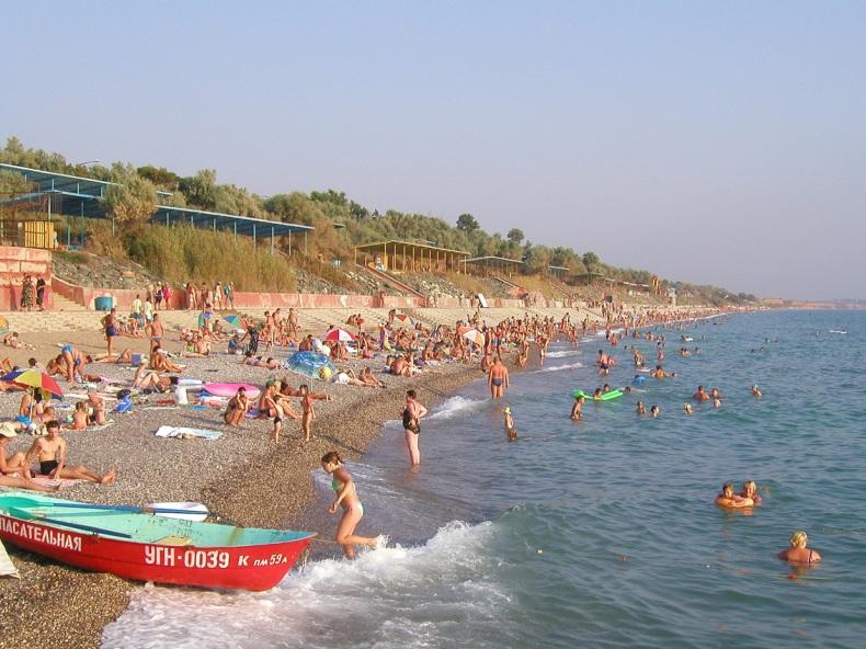 Крымский пляж - Фото 02