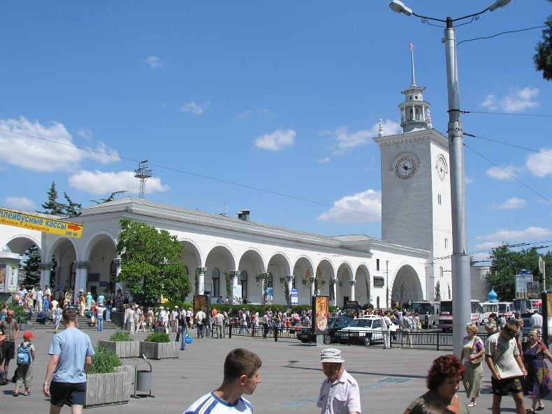 Здание ж/д вокзала в Симферополе - Фото 05