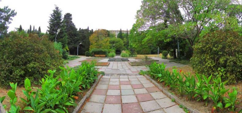 Парк санатория Симеиз - Фото 18