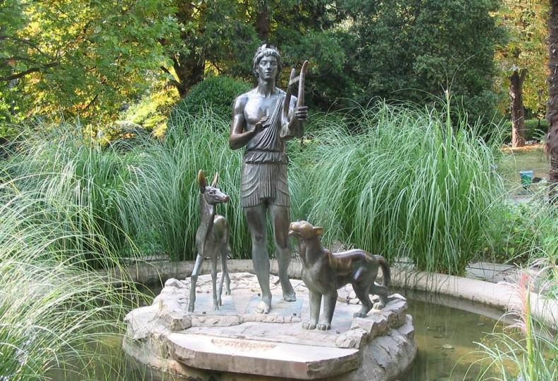 Гурзуфский парк, скульптуры - Фото 08