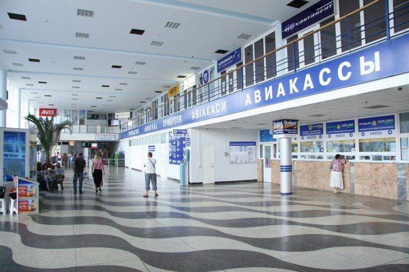 Симферопольский аэропорт - Фото 02