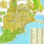 Подробная карта Евпатории и номерами домов