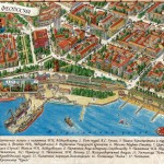 ФЕОДОСИЯ. Подробная трёхмерная карта Феодосии с обозначением улиц и основных объектов