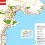 Турстическая карта Керчи с достопримечательностями