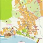 Подробная карта г. Судак с улицами и номерами домов