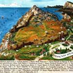 Художественная карта Судакской крепости