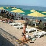 пляж Камешки Феодосия - веб камера