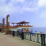Веб камера на центральной набережной Феодосии онлайн