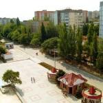 Веб камера на Центрально площади Щелкино онлайн