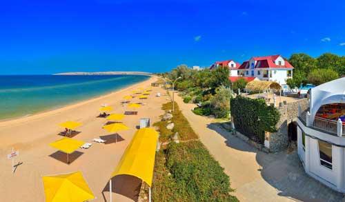 Веб камера отеля Рига в Щелкино онлайн