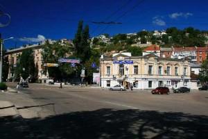 Веб камера на площади Ревякина. Севастополь