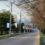 Веб камера на проспекте Острякова. Севастополь