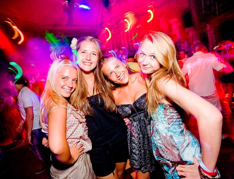Отдых в ночных клубах Крыма для молодежи - Фото