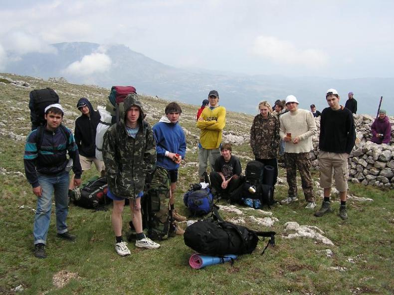 Туристическая группа на перевале - Фото 10