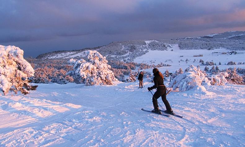 Красота крымских пейзажей зимой - Фото 09