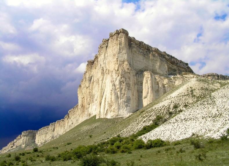 Белая скала, Ак-Кая - Фото 07