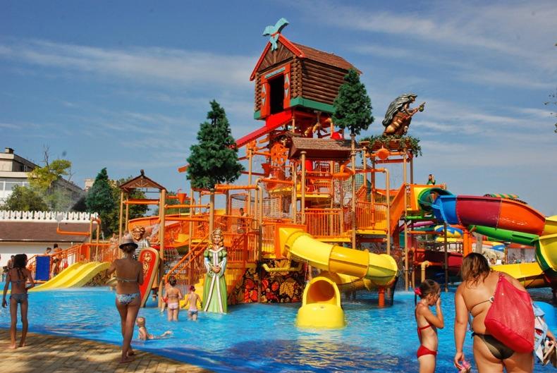 Сказочный аквапарк для детей - Фото 08