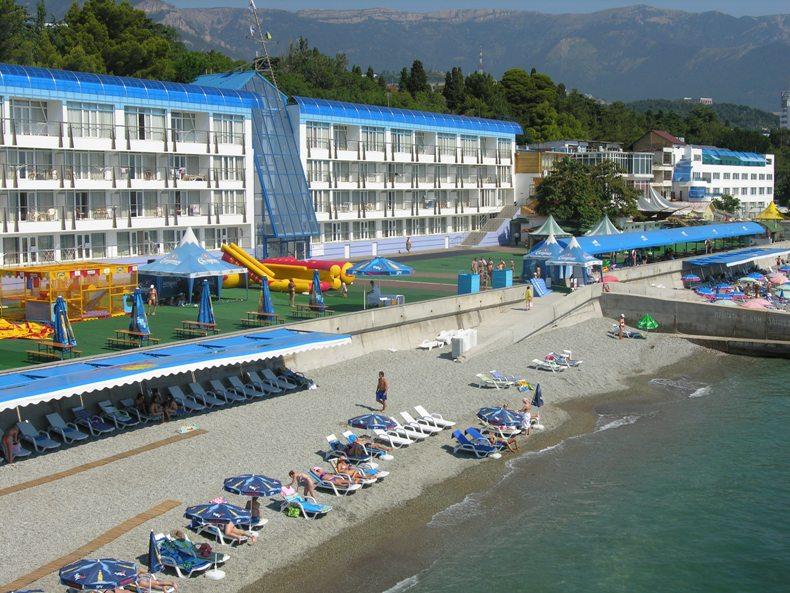 Пляж Левант-отеля - Фото 10