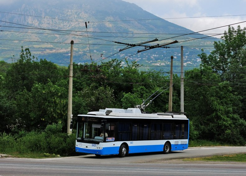 Схема движения троллейбусов на
