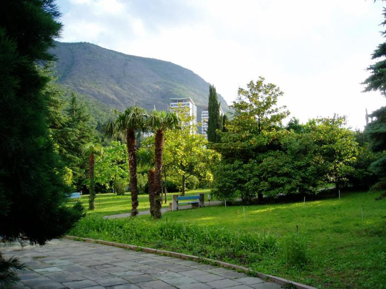 Парк санатория 'Крым' - Фото 05