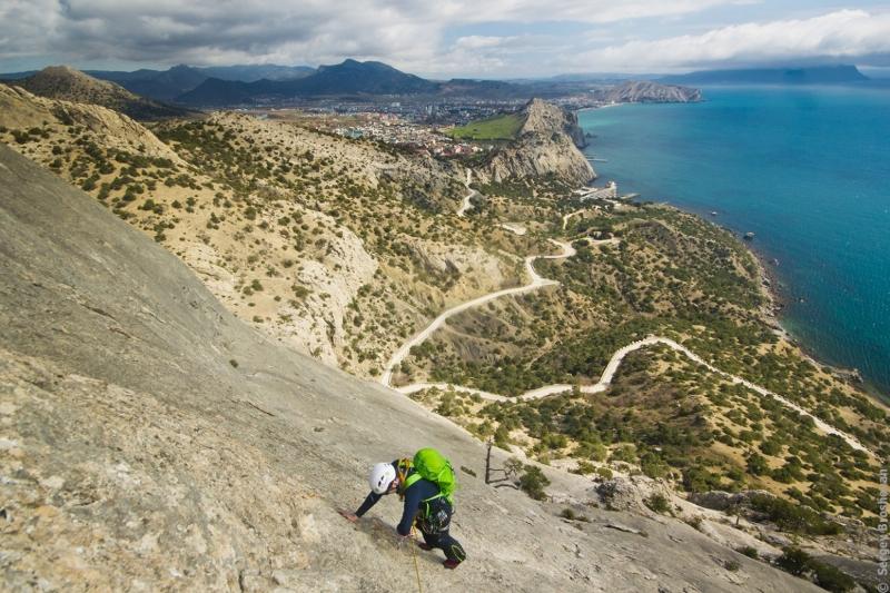 Альпинизм на скале Сокол - Фото 12