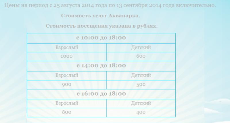 Цены на билеты в прошедшем летнем сезоне - Фото 10