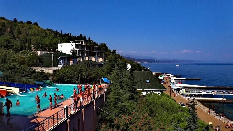 Расположение аквапарка на крыше - Фото 02