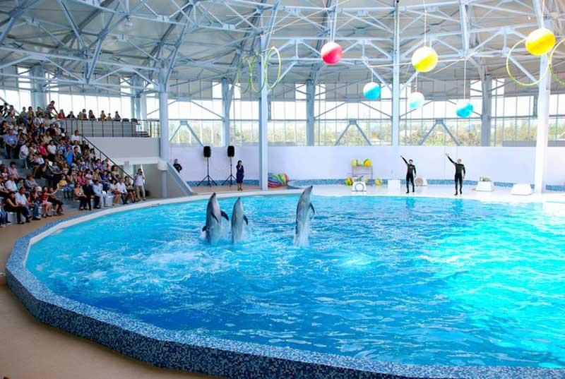 Евпаторский аквапарк. Фото