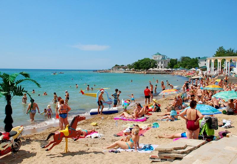 Пляж в Евпатории - Фото 02