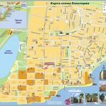 Карта достопримечательностей Евпатории