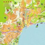 Карта ялты с достопримечательностями