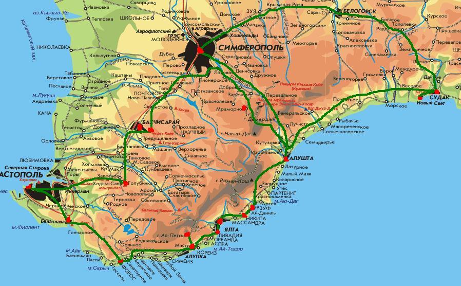 скачать интерактивная карта крыма - фото 5