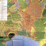Туристическая карта Судака
